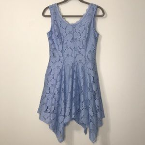 Altar'd State Blue Crochet Lace Dress XS
